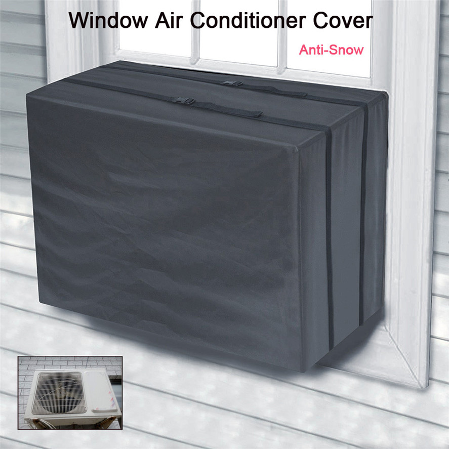 New 70x56x46cm Window Air Conditioner Cover Waterproof 1pc Air Conditioner Cover Outdoor Unit Anti-Snow 30