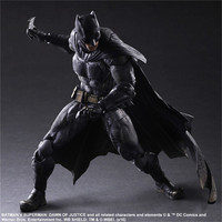 Play Arts Kai Movie Superhero Batman vs Superman Movie Dawn Justice Scale Complete Action Figure DC Comics Character Model Toys