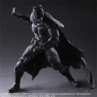 Play Arts Kai Movie Superhero Batman vs Superman Movie Dawn Justice Scale Complete Action Figure DC Comics Character Model Toys
