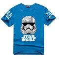 Starwars Stormtrooper Ilustración de Impresión T-shirt de Algodón Unisex Homme Camisetas Adolescente Suelta Tops niños Star Wars The Force Despierta