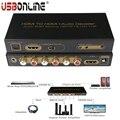 -Full hd 1080 p/60 hz hdmi para hdmi + áudio do decodificador de áudio edid configuração + spdif + 5.1ch + hp digital conversor de áudio 3d suporte cec/hdcp