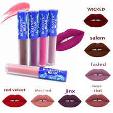 2019 Hot 12 Colors Matte Lipstick Beauty Batom Long Lasting Labiales Rouge Liquid Waterproof Makeup Lip Gloss Cosmetics