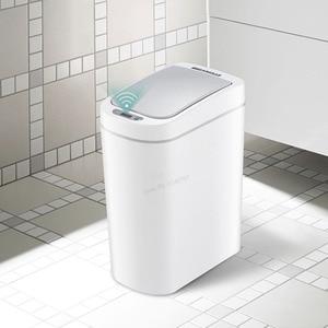 Image 4 - Youpin NINESTARS الذكية حاوية القمامة محس حركة السيارات ختم LED التعريفي غطاء القمامة 7L Ashcan صناديق Ipx3 مقاوم للماء