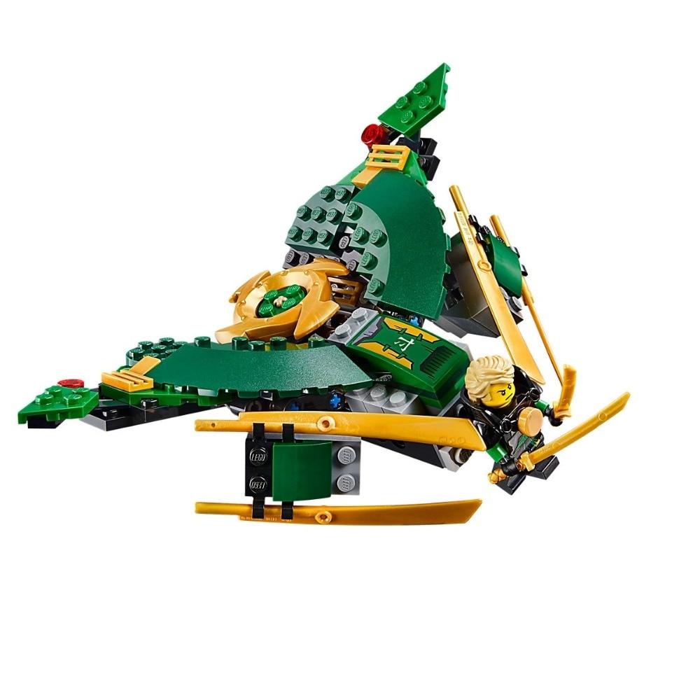Image 4 - Ninjagoe Kit 70605 757pcs Building Blocks Compatible Legoe toys for Childrens Bricks Model Boy Gift Misfortune's Keep-in Blocks from Toys & Hobbies