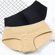 Fashion Pad Back hip briefs Hips Control women Body Shaper Sexy Padded Seamless bottom Panty Buttocks Push Up Lingerie panty mesh insert shaper panty