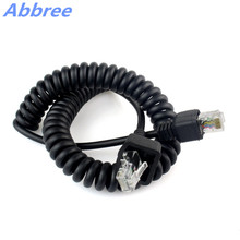 8 Pin Hand Mic Speaker Cable Microphone Line for Walkie Talkie Kenwood TK-868G TK-768G TK-862G TK-762G TK-7100 TK-8100 Radios