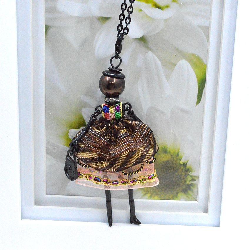 Nyaste ankomst mode docka halsband smycken försäljning härlig - Märkessmycken - Foto 5