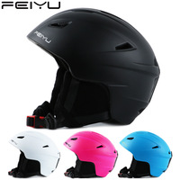 New ski helmet men women adult professional snow helmet single and double snowboard outdoor sports helmet skiing cycling hiking