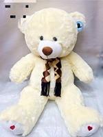 Mishatoys stuffed toys big soft plush teddy bears giant pillow for girls children boys musical igrushka with heart 120 cm