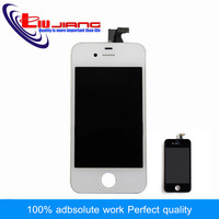100 Genuine Replacement LCD For Apple IPhone 4 4G LCD Touch Screen With Digitizer Assembly Front
