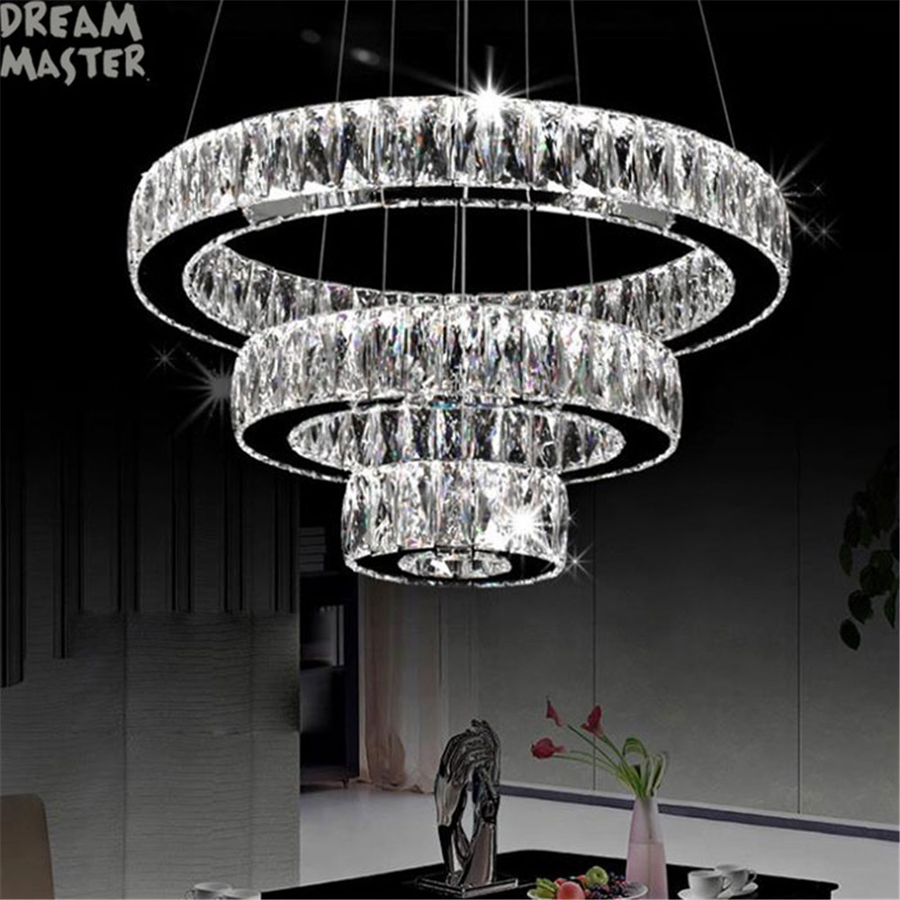 Led Light Fixture Manufacturers In India: Aliexpress.com : Buy Modern LED Chandeliers Long Crystals