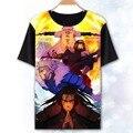 [Xinyu] Llegan Nuevos Colores Uzumaki Naruto 3D T camisa de Verano Hombres/Mujeres Graffiti Estilo Naruto Manga Corta camisetas s-XXXL