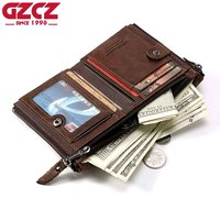 Hot Sale New Style 100 Genuine Leather Men Wallet High Quality Luxury Brand Design Men S