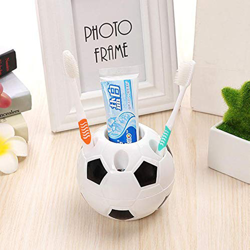 Creative Soccer Shape Pen Pencil Holder Football Toothbrush Desktop Rack Table S Student Gifts Free Shipping