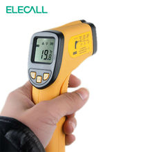 Promo offer 550 50-550C 12:1 Auto-off LCD Display Non-contact Digital Laser Infrared Thermometer IR High Temperature Gun Tester