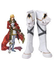 Fire Emblem Genealogy of the Holy War Eldigan Cosplay Boots Shoes Custom Made