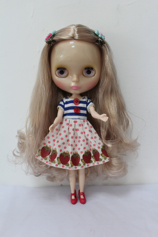 Free Shipping Transparent RBL 188T DIY Nude Blyth doll birthday gift for girl 4 colour big