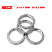 Tommia OD 67 1mm ID 56 1mm 4 Pcs Wheel Hub Centric Rings Custom Sizes Available