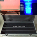 (12 комплектов/Чехол) Светодиодный прожектор для сцены dmx наружные светодиодные светильники настенная шайба 18x12 Вт rgbwa 5in1 светодиодная настен...