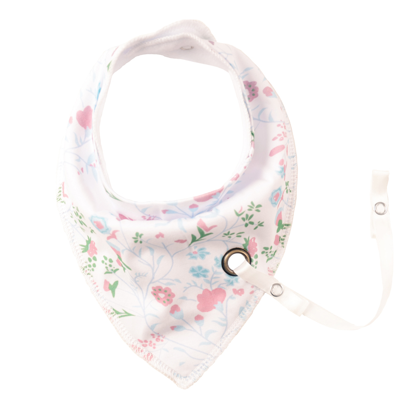 XCQGH 1PCS Baby Bibs With Pacifier Hangers More Pattern Newborn Infant Baby Bibs Girl Bandana Burp Cloth Feeding