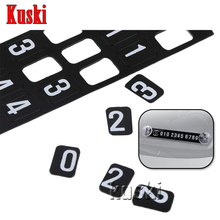 Car Parking Card Stickers For Mitsubishi ASX Lancer 10 9 Outlander Pajero I200 Lexus RX NX GS CT200H GS300 RX350 RX300 Accessory