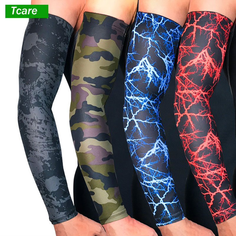 1Pcs UV Protection Cooling Arm Sleeves - Sun Sleeves for Men & Women. Perfect for Cycling, Driving, Running, Basketball