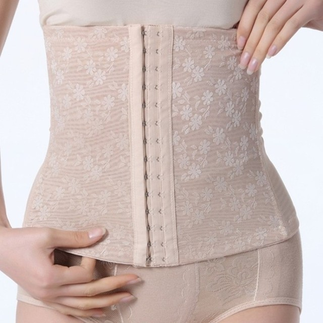 c726ded22f5a6 Body shaping cummerbund belt clip drawing abdomen belt staylace wedding  dress slim waist girdle maternity corset belt binding