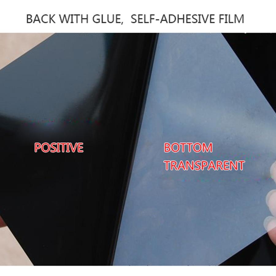One way bathroom window - Aliexpress Com Buy 5meter Black Shading Glass Sticker Diy Transparent Decorative Film One Way Privacy Window Film Bathroom Home Office Window Paper From