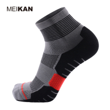 MEIKAN Men's Breathable Sports Socks June Semi-loop Thickening Running Camping Hiking Compression Socks For Women