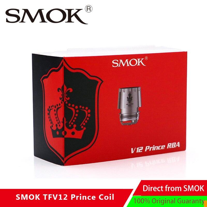 Original SMOK TFV12 Prince RBA 0 25ohm Resistance replacement Atomizer RBA coil head For SMOK TFV12