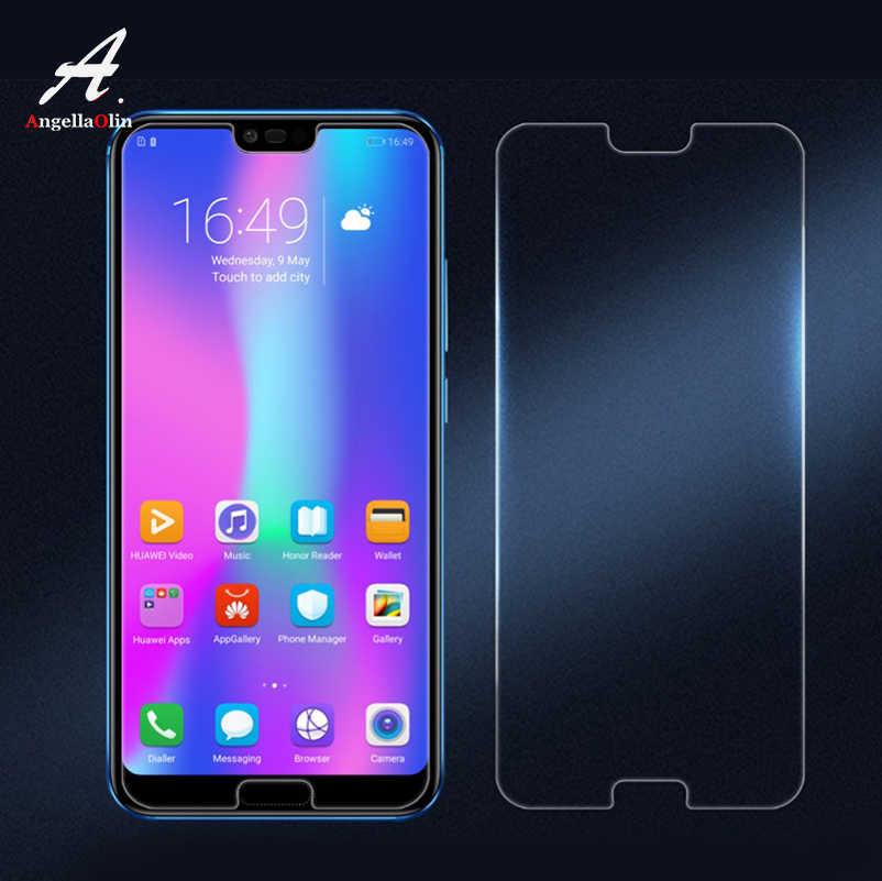 9H tempered glass screen protector For For huawei p20 lite Pro p10 mate 10 p smart For honor 10 9 7x 8 film case Guard P20 10