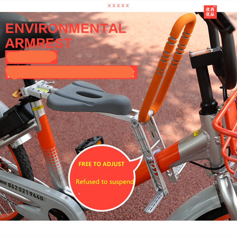 Hot Sale 2018New Mountain Road Bike Child Safety Seat Child Bicycle Front Chair Suitable For1-6 Years Old Baby