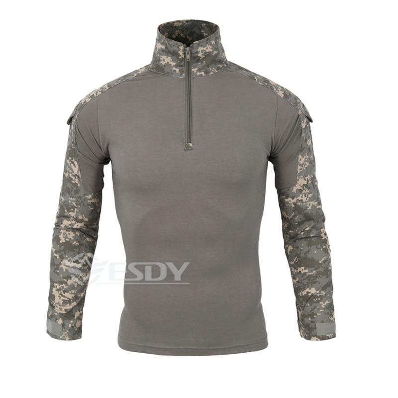 Camouflage Military Uniform Combat Shirt Cargo Multicam Airsoft Paintball Militar Tactical Clothing multicam uniforms acu camouflage uniform military tactical shirt pants wholesale combat army uniform