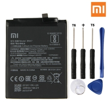 Xiao Mi Original Replacement Phone Battery BN47 For Xiaomi Redmi 6pro Hongmi 6 Pro Redrice Rechargeable 4000mAh