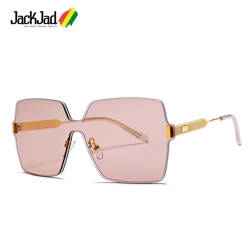 JackJad 2018 Fashion Cool Rimless Square Style Sunglasses Popular Tint Ocean Lens Brand Design Sun Glasses Oculos De Sol <font><b>23002</b></font> image