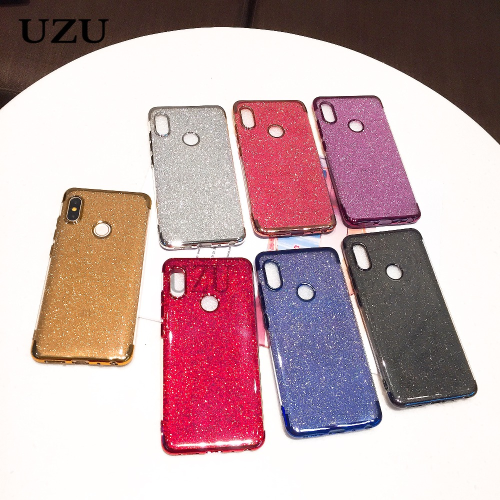 Luxury Glitter Bling Silicone Case for xiaomi Redmi 5 Plus Note 5A 5 4 4X 6 6a Pro Cover for mi A1 A2 max 3 mix 2 S 8 SE 6 6X 5X