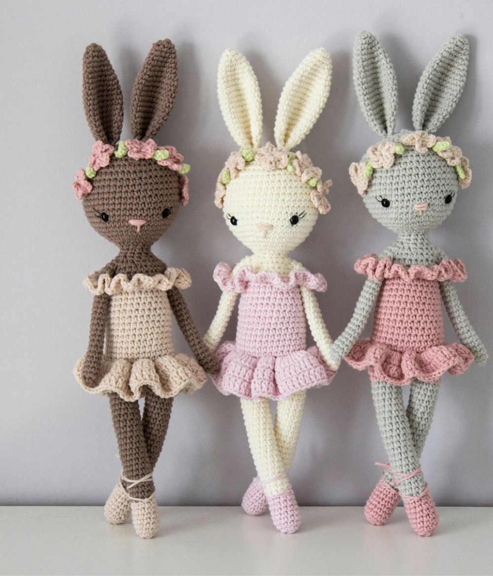 Amigurumi Bunny Family Free Pattern | 1168x1000