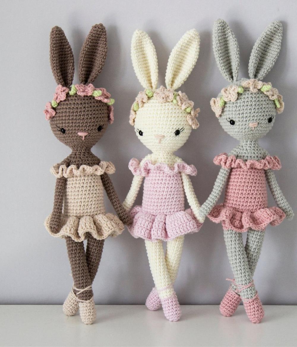 Crochet Toys Crochet  Amigurumi  Doll  Bunny  Model    Number TS041320