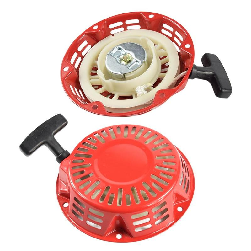 Rewind Pull Recoil Starter For Honda GX160 GX200 5.5HP 6.5HP Lawn Mower Engine Motor Part Home Lawn Recoil Starter