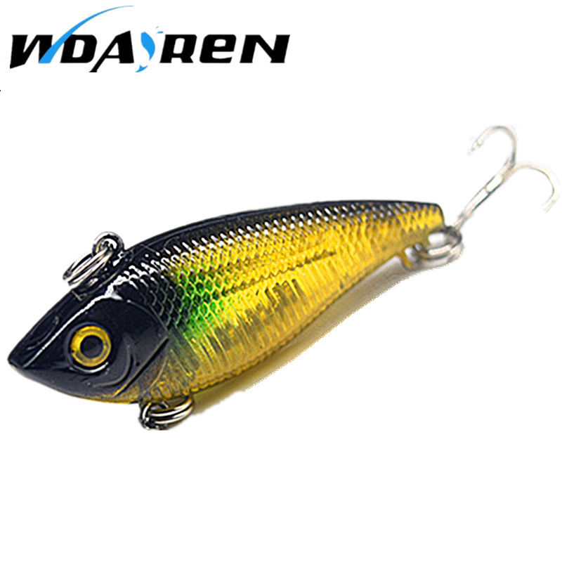 Brand Lifelike VIB Floating Fishing Lure 5CM 6G Pesca Hooks Fish Wobbler Tackle Crankbait Artificial Japan Hard Bait FA-310 sealurer 1pcs vib fishing lure 7cm 10 5g pesca wobbler crankbait artificial japan floating hard bait tackle 5 colors available