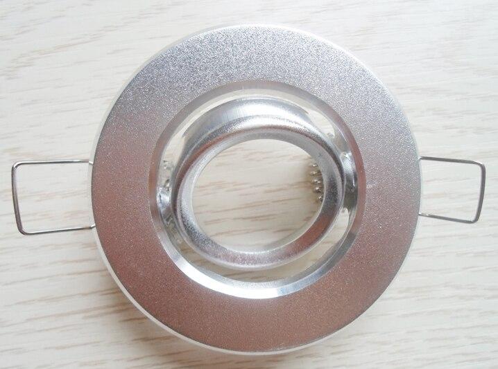 NOVINKA ARRIVAL 10 * led svítilna svítidla MR11 okrajové bodové svítidlo rám hliníkový výřez dia35mm držák na lampu
