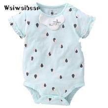 6855d0281 الوليد الطفل سروال قصير صيفي للأطفال طفل قصيرة الأكمام السروال القصير الطفل  الرضيع الفتيات والفتيان عارضة بذلة الطفل الملابس DD1.