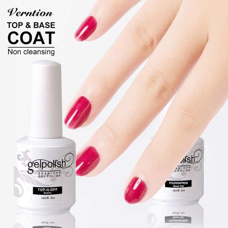 Gel Nail Polish Sale: Verntion 1pcs Soak Off Gel Nail Polish Hot Sale Non