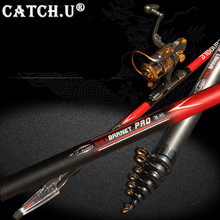 Ultra Light Carp Fishing Pole 2.4M-6.3M Stream Carbon Fiber Telescopic Fishing Rod