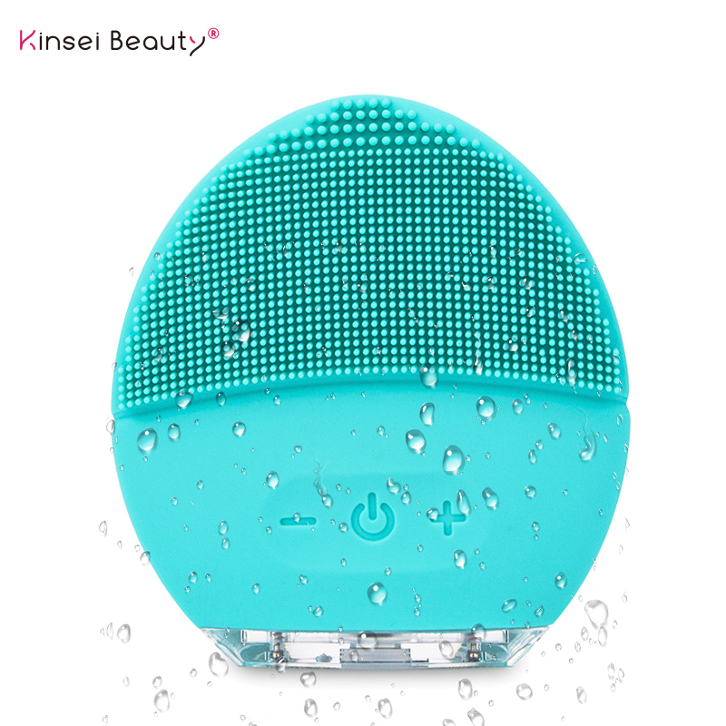 Electric Vibration Facial Cleansing Brush Skin Blackhead Remove Pore Cleanser Waterproof Silicone Face Massager CleanserElectric Vibration Facial Cleansing Brush Skin Blackhead Remove Pore Cleanser Waterproof Silicone Face Massager Cleanser