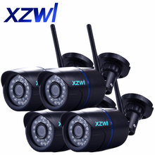 4 PCS 720P HD IP Camera WIFI Onvif 2 4 P2P font b Smartphone b font