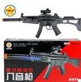 Caliente! 2015 el envío libre para niños juguete eléctrico rifle rifle de francotirador pistola pistola de infrarrojos desmontaje acústico óptico juguete modelo para hombre