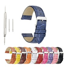 Ontheleaver Premium Crocodile Embossed Leather Watch Band Mens or Womens Croc Strap croc embossed winged bag
