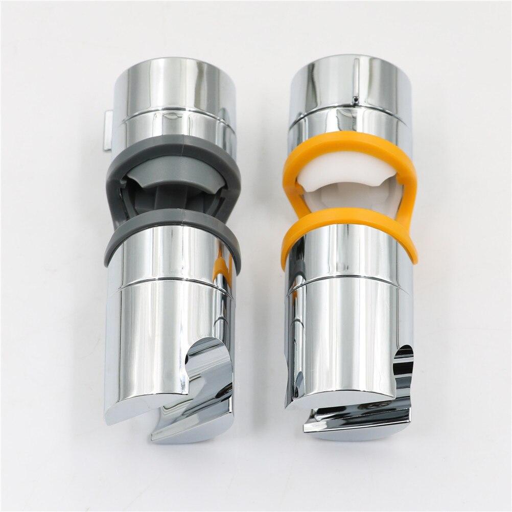 1Pcs Adjustable 40*123mm Hand Shower Bracket for Slide Bar O.D. Chrome Plated Bathroom Pipe Shower Head Holders