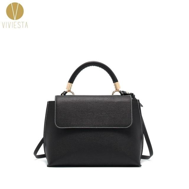 Minimal Designer Shoulder Work Bag Women S Office Lady Formal Plain Simple Fashion Light Satchel Cross